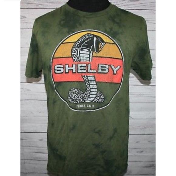 db6916b5 Fifth Sun Shirts | Mens Carroll Shelby Cobra Green T Shirt | Poshmark